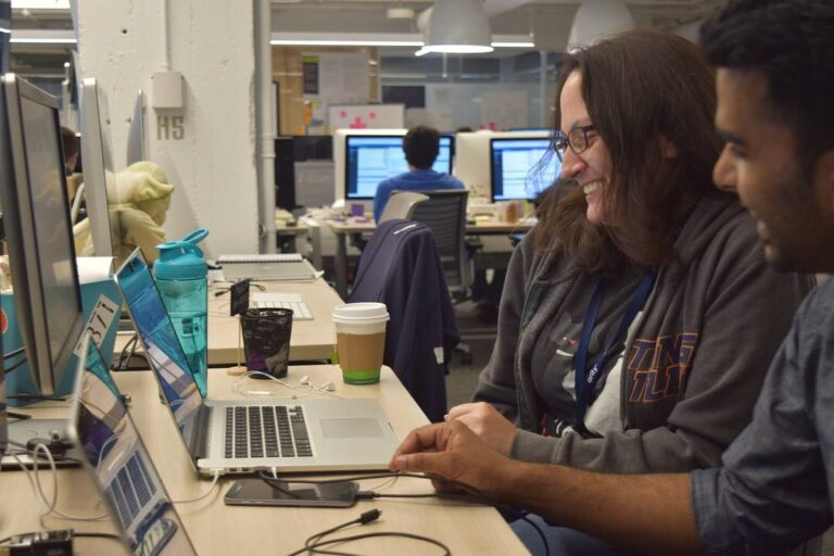 Arity engineers discussed during code review