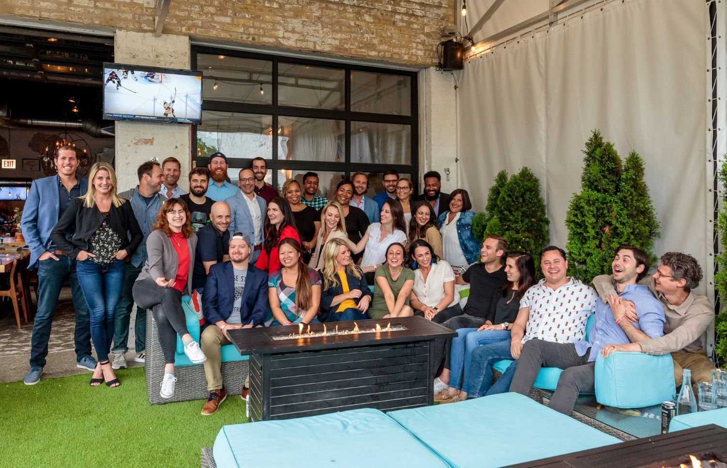 HealthJoy staff celebrate and collaborate