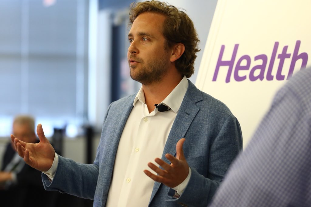 HealthJoy CEO and founder shared story in an interview at a Chicago incubator