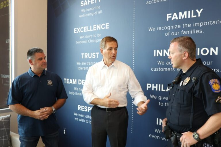 DEPCOM Power leadership collaborate with authorities