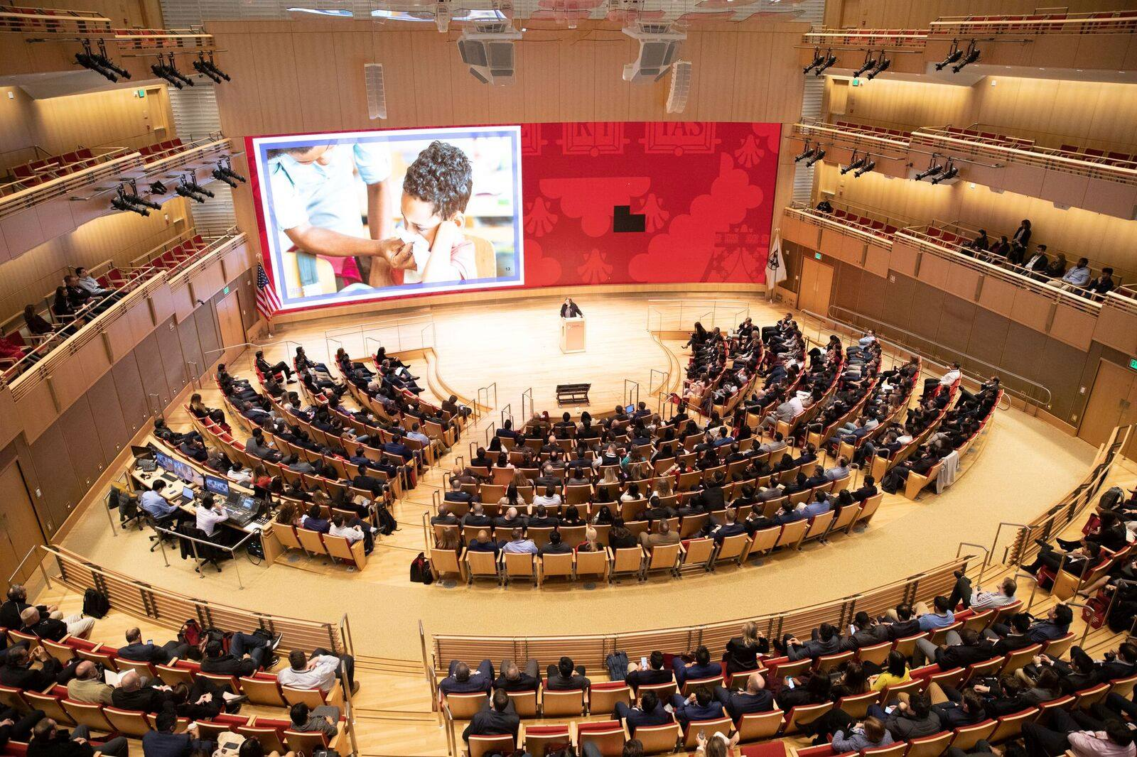 graduation event at Harvard Business School
