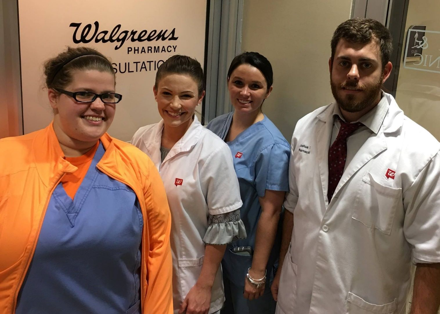 Walgreens pharmacy team support patients