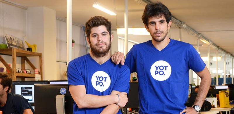 Yotpo CEO and cofounders at the engineering office