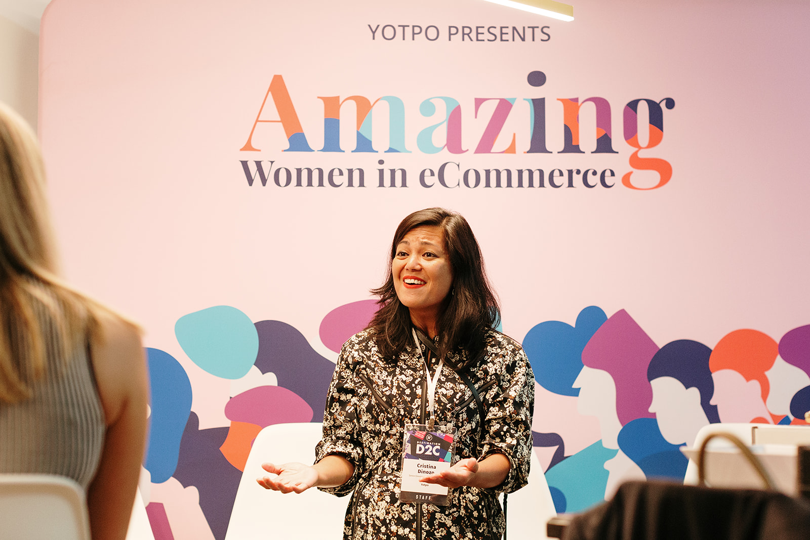 Yotpo team at the Amazing Women in eCommerce conference