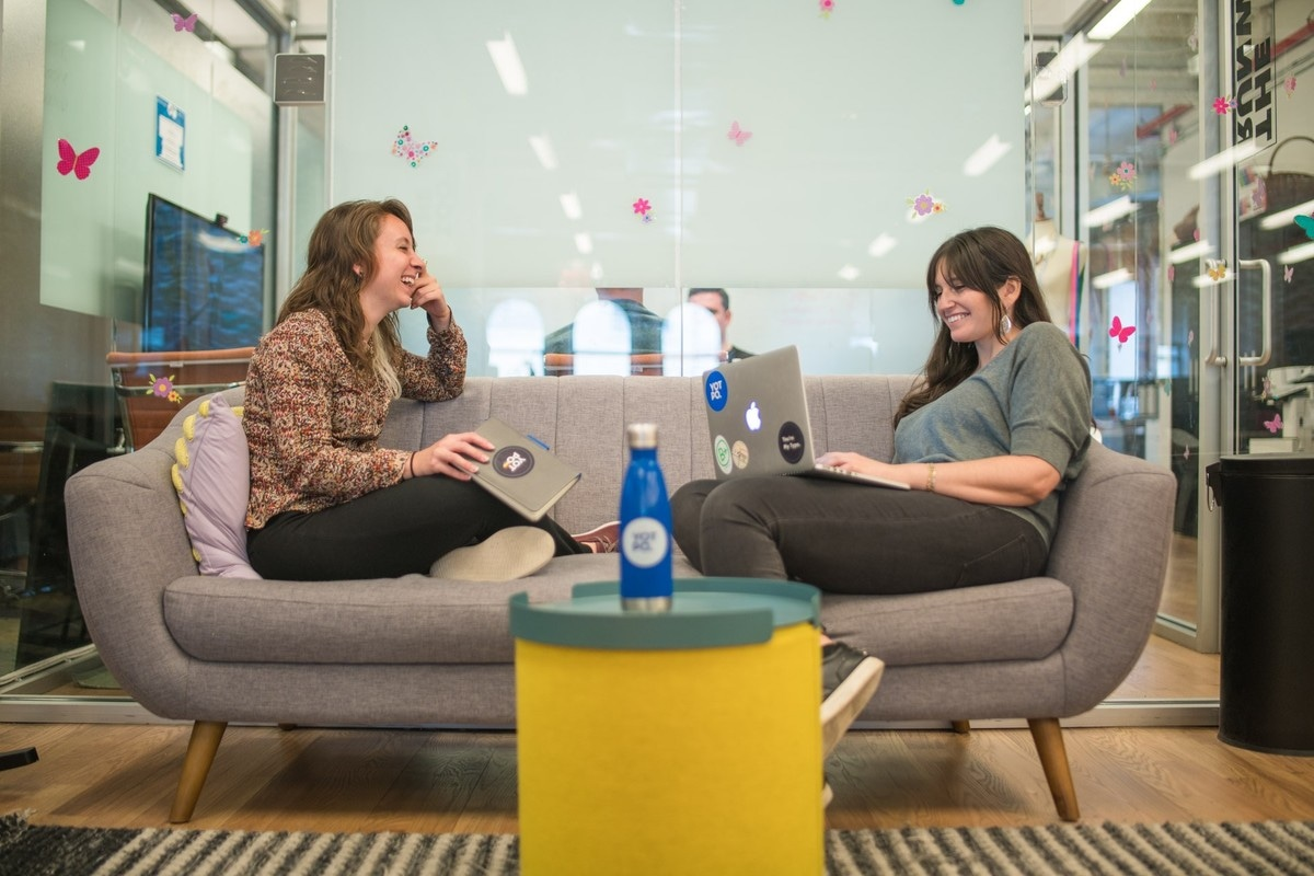 Yotpo staff collaborate at the headquarter office