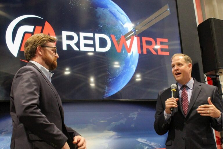 Redwire Space leadership team answered question at space tech conference