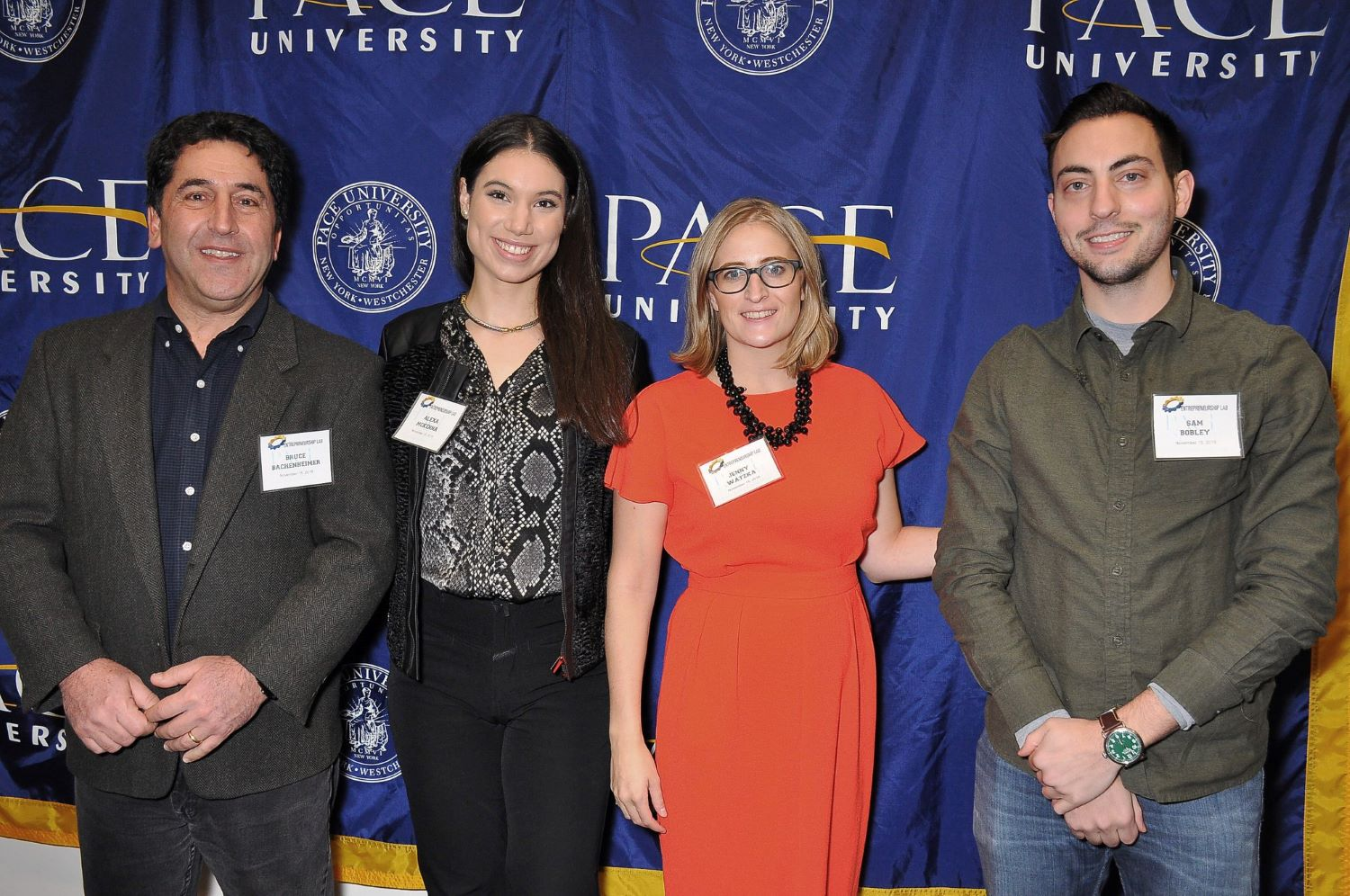 Ocrolus CEO at an Entrepreneurship event at Pace University