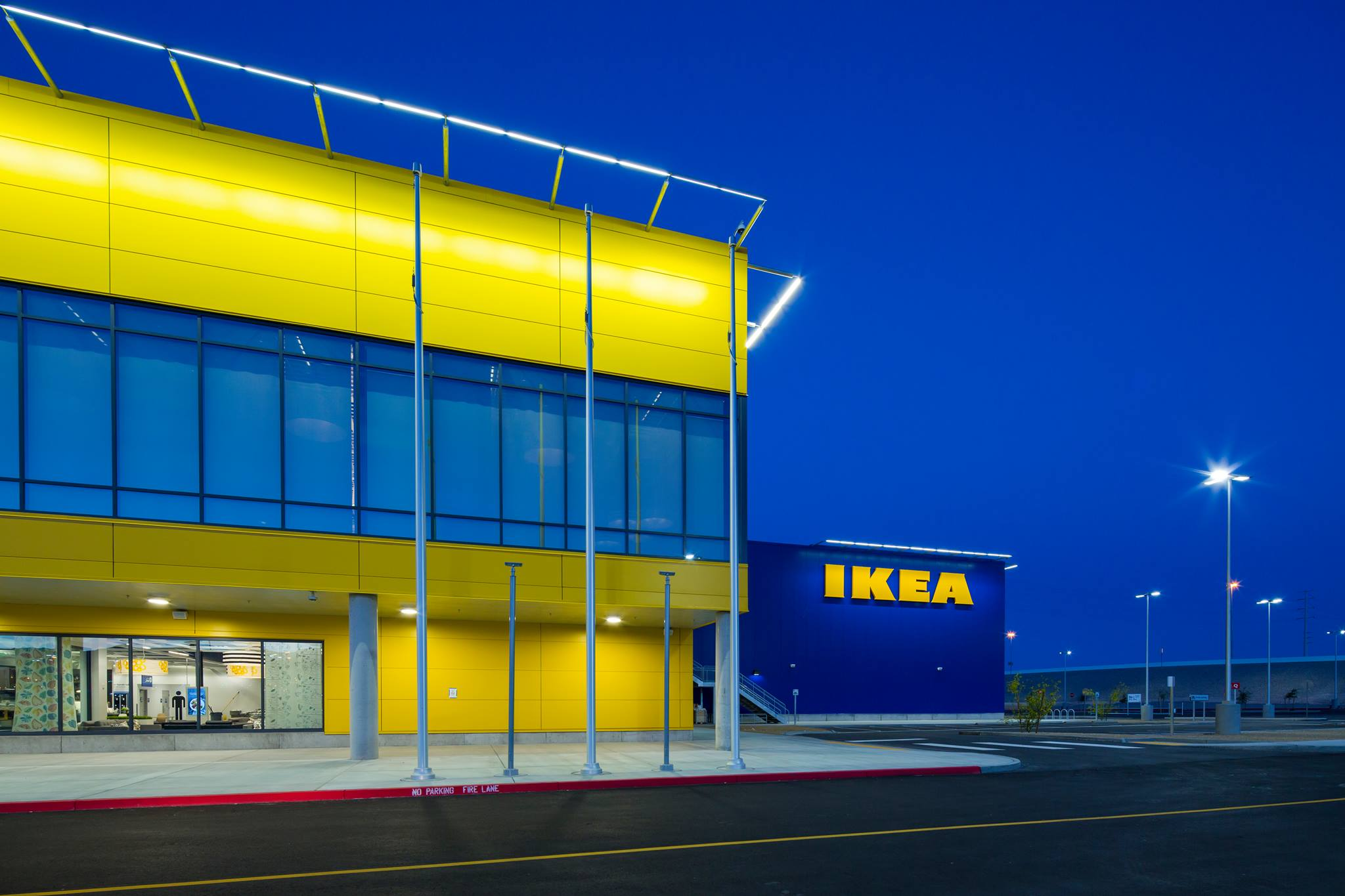 One of the Ikea project that R&O Construction completed