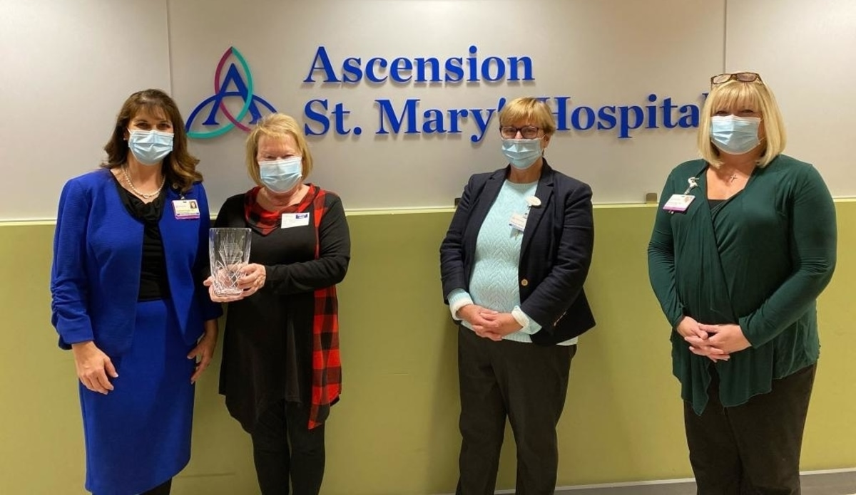 Ascension staff at the St. Mary Hospital