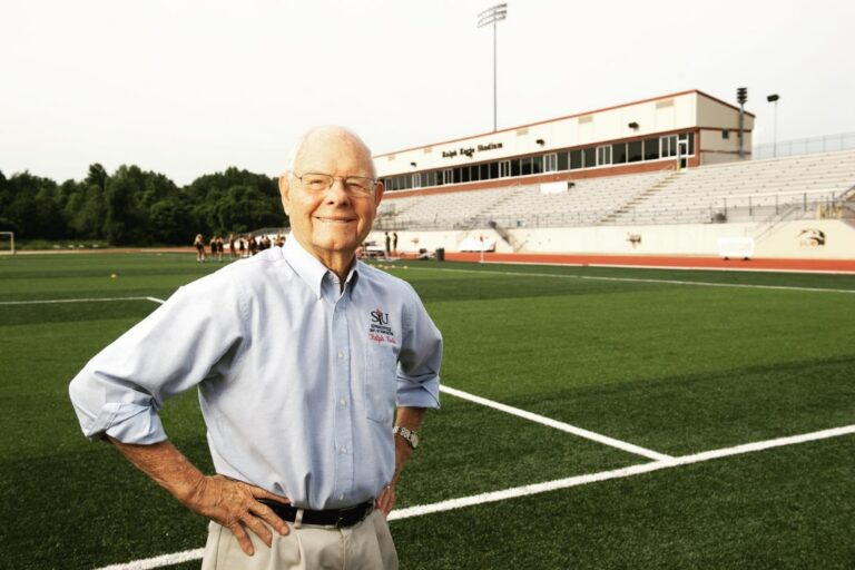 The Korte Company founder a football field