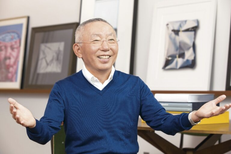 Uniqlo founder and global CEO